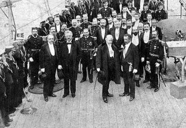 Foto del 15 de febrero de 1899. Roca y Errázuriz